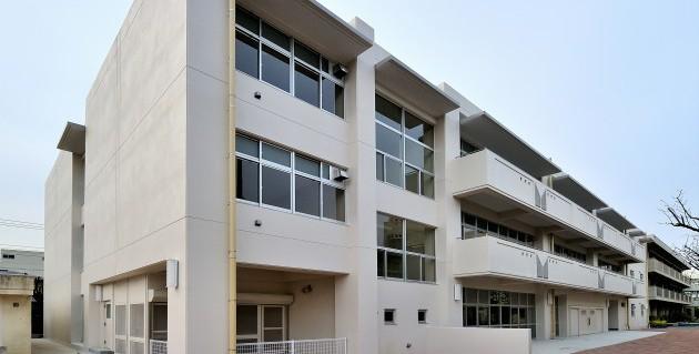 1.校舎棟 外観(北面)